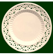Medallion Dessert/Side Plates