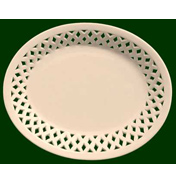 Oval Lattice Dish